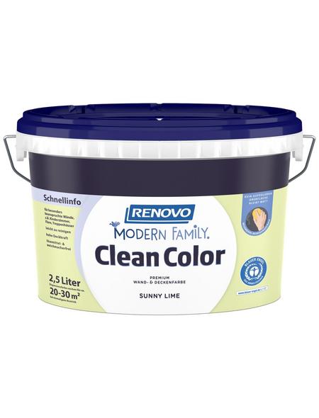 RENOVO Dispersionsfarbe »Modern Family.«, Sunny Lime, matt