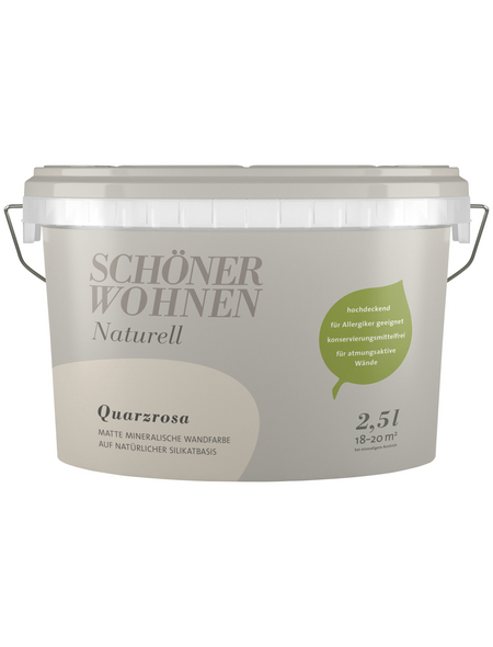 SCHÖNER WOHNEN FARBE Dispersionsfarbe »Naturell«, Quarzrosa, matt