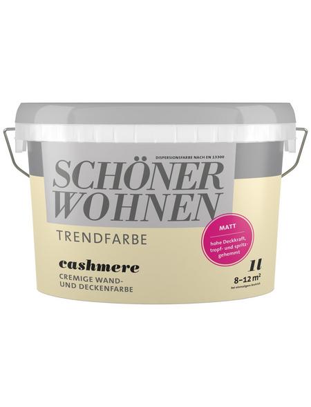 SCHÖNER WOHNEN Dispersionsfarbe »Trendfarbe«, Cashmere, matt
