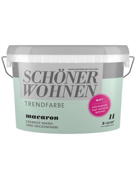 SCHÖNER WOHNEN FARBE Dispersionsfarbe »Trendfarbe«, Macaron, matt