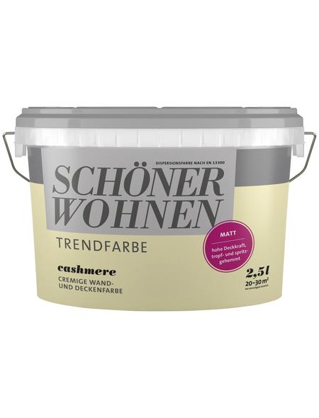 SCHÖNER WOHNEN Dispersionsfarbe »Trendfarbe«, matt