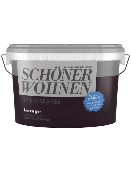 SCHÖNER WOHNEN FARBE Dispersionsfarbe »Trendfarbe«, seidenglänzend