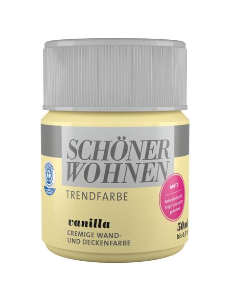 SCHÖNER WOHNEN FARBE Dispersionsfarbe »Trendfarbe«, Vanilla, matt