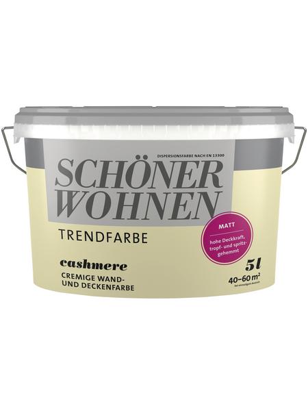 SCHÖNER WOHNEN Dispersionsfarbe »Trendfarben«, Cashmere, matt