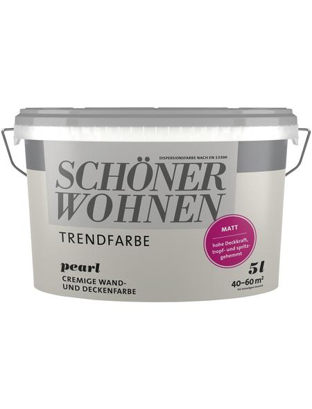 SCHÖNER WOHNEN Dispersionsfarbe »Trendfarben«, Pearl, matt