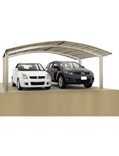 XIMAX Doppelcarport »Portoforte«, Außenmaß BxT: 542,3 x 495,4 cm