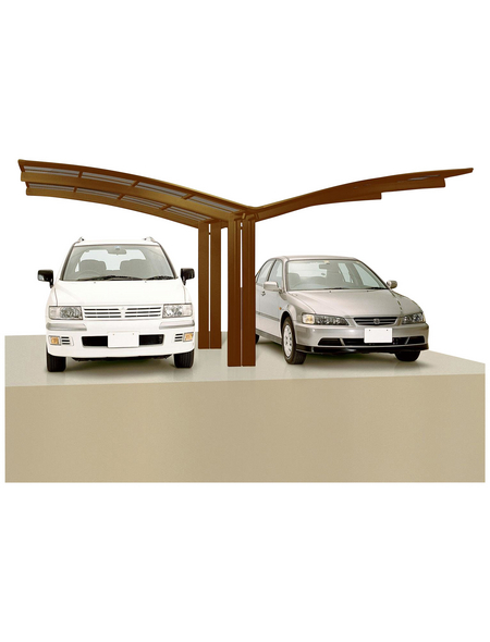 XIMAX Doppelcarport »Portoforte«, Außenmaß BxT: 543 x 495,4 cm