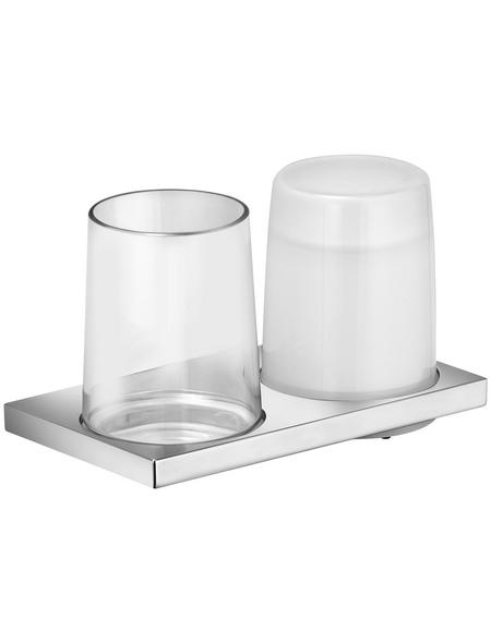 KEUCO Doppelglashalter, chromfarben