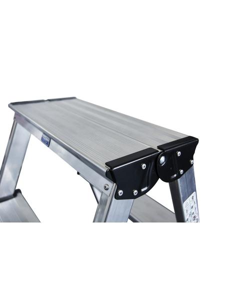 KRAUSE Doppelleiter »MONTO«, Anzahl Sprossen: 8, Aluminium