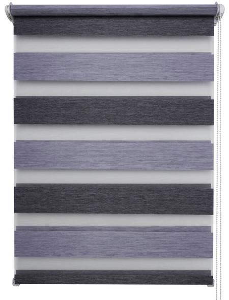 SCHÖNER WOHNEN Doppelrollo »raven«, lichtdurchlässig, Polyester