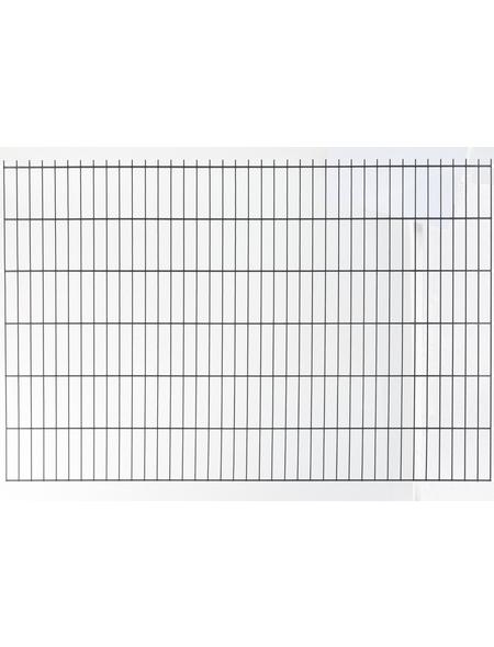 FLORAWORLD Doppelstabmatte, HxL: 103 x 251 cm, anthrazit