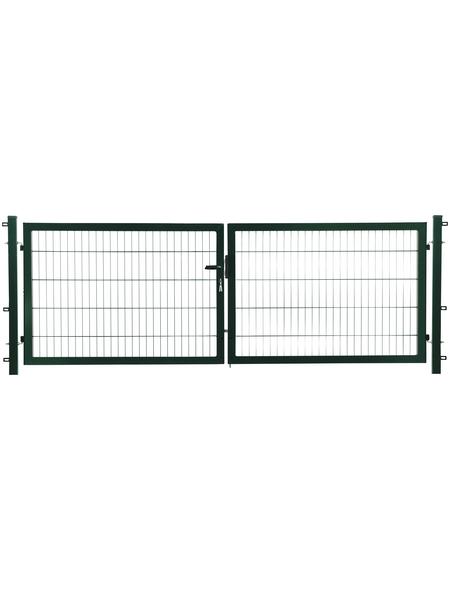 FLORAWORLD Doppeltor »comfort«, Stahl, grün