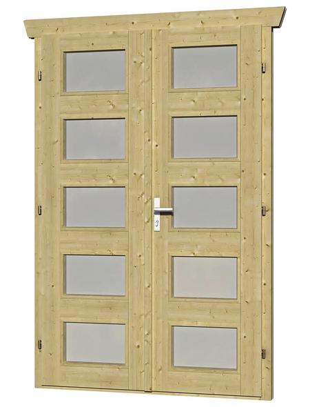SKANHOLZ Doppeltür, BxH: 78,5 x 193 cm, Holz