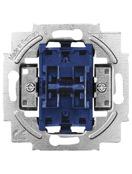 BUSCH-JAEGER Doppelwechselschalter-Einsatz, Silber, Kunststoff/Metall