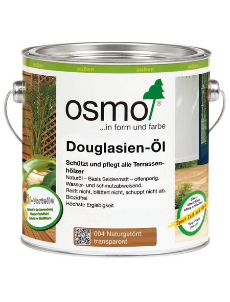 OSMO Douglasienöl, transparent, seidenmatt, 0,75 l