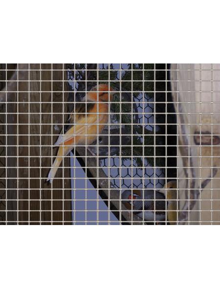 MR. GARDENER Drahtgitter, HxL: 100 x 500 cm, silberfarben