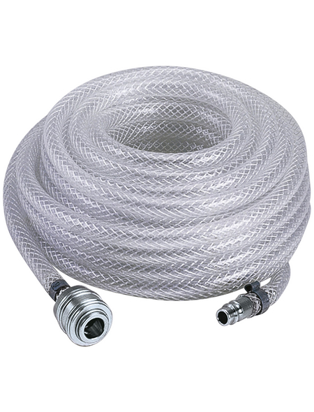 EINHELL Druckluftgewebeschlauch silber/transparent Ø 6 x 10000 mm