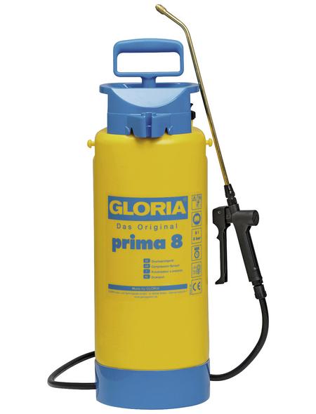 GLORIA Drucksprühgerät »Prima «, 3 bar (max.), Füllmenge 8 L