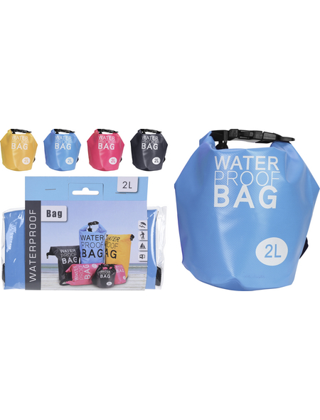 Koopmann Drybag »Waterproofbag«, Kunststoff, 2 l, wasserdicht, zufällige Farbauswahl