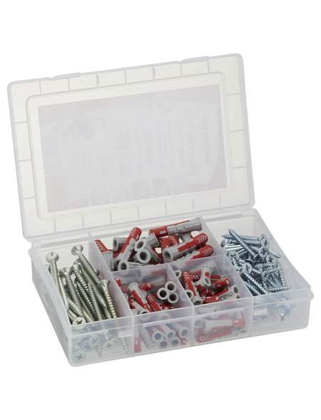 FISCHER Dübel Box, MeisterBox, Nylon, 1 Stück, 4,5-6 x 30-40 mm
