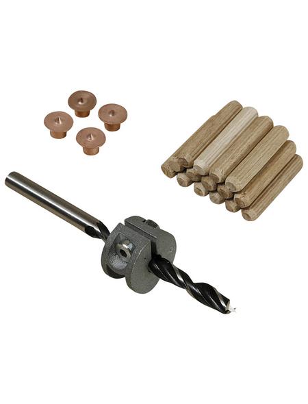 WOLFCRAFT Dübel-Set, 2916000, Holz   Metall, 1 Set, 6 mm
