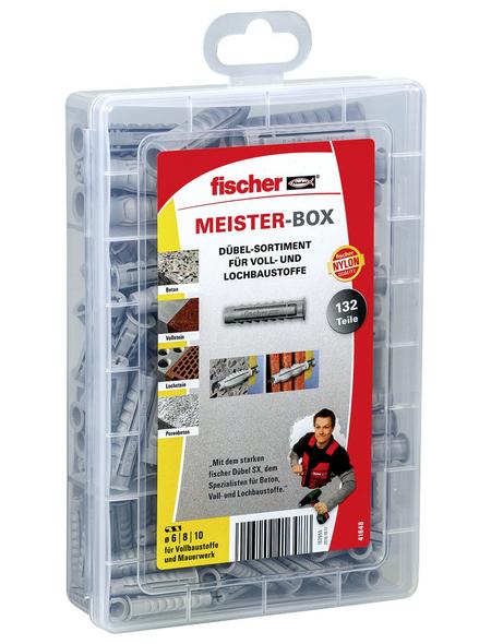 FISCHER Dübelbox, 132 Stück