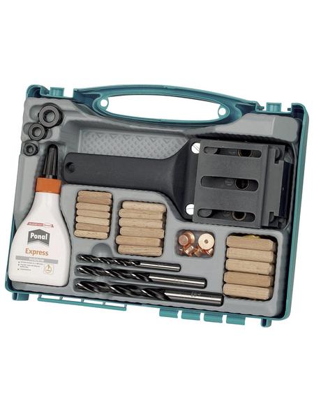 WOLFCRAFT Dübelbox, 4645000, Kunststoff   Holz   Metall, 1 Set