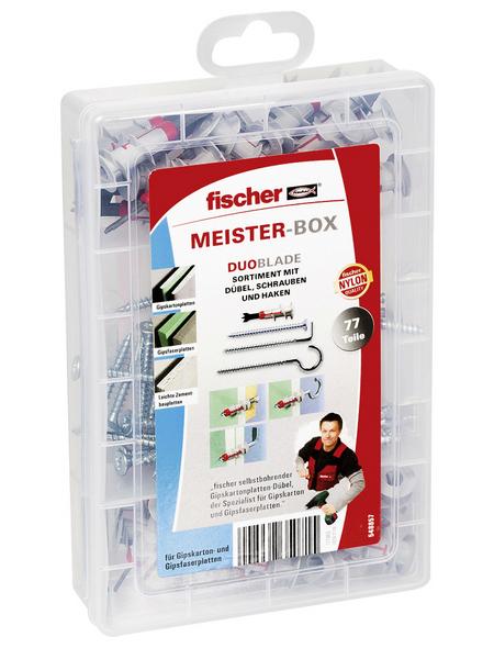 FISCHER Dübelbox, 77 Stück