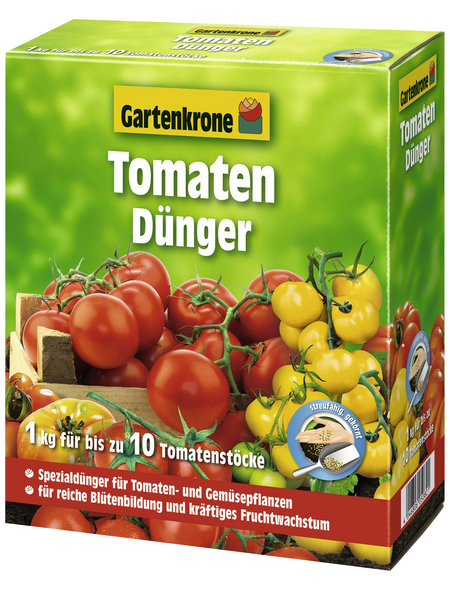 GARTENKRONE Dünger, 1 kg, schützt vor Nährstoffmangel