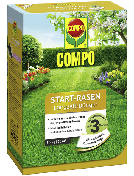 COMPO Dünger, 1,5 kg, für 50 m²