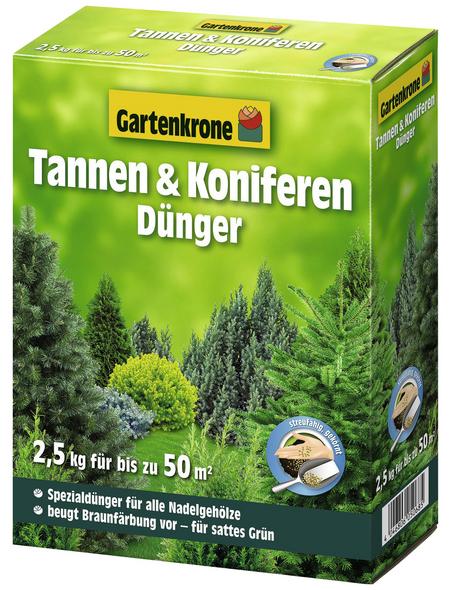 GARTENKRONE Dünger, 2,5 kg, schützt vor Nährstoffmangel