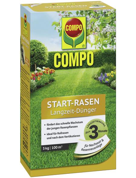 COMPO Dünger, 3 kg, für 100 m²