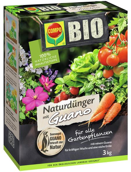 COMPO Dünger »BIO«, 3 kg, schützt vor Mangelerscheinungen