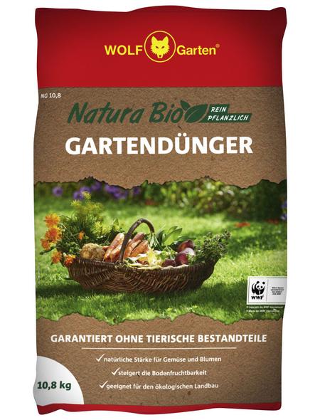 WOLF GARTEN Dünger »Bio Gartendünger NG«, 10,8 kg, für 160 m²