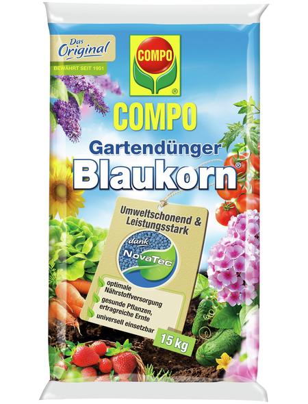 COMPO Dünger »Blaukorn NovaTec«, 15 kg, schützt vor Nährstoffmangel
