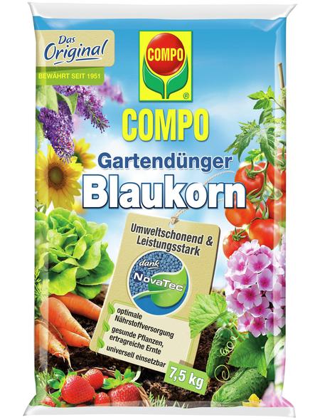 COMPO Dünger »Blaukorn NovaTec«, 7,5 kg, schützt vor Nährstoffmangel