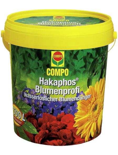 COMPO Dünger »Hakaphos Blumenprofi«, 1,2 kg, schützt vor Nährstoffmangel