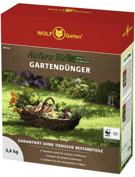 WOLF GARTEN Dünger »Natura Bio«, 3,4 kg, für 50 m²