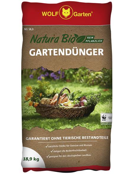 WOLF GARTEN Dünger, Natura Bio, Granulat, 18,9 kg