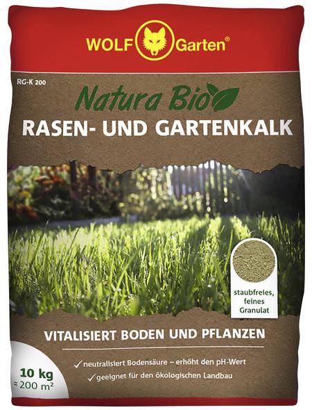 WOLF GARTEN Dünger »RG-K 200«, 10 kg, für 200 m², schützt vor Verschlämmen der Bodenoberfläche