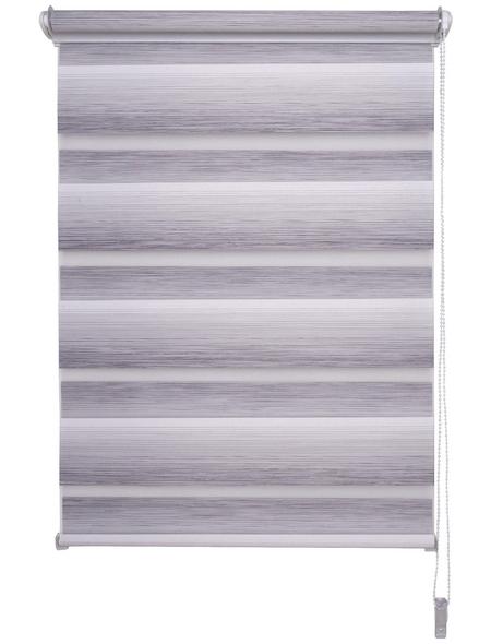 LIEDECO Duo-Rollo, grey, Klemmfix, Polyester