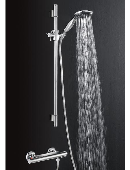 SCHÜTTE Duschbrauseset, Höhe: 6 cm, chromfarben