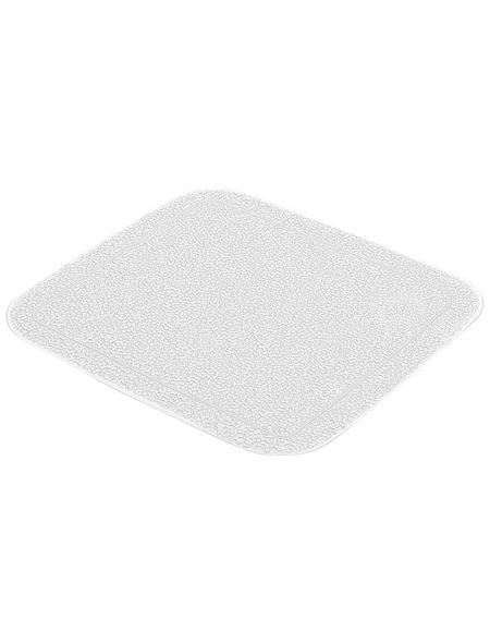 KLEINE WOLKE Duscheinlage »Java-Plus«, BxL: 55 x 55 cm, quadratisch
