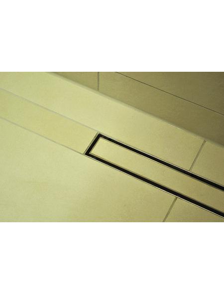 HOME DELUXE Duschrinne Befliesbar, LxBxH: 50x7x10 cm
