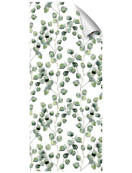 mySPOTTI Duschrückwand-Panel, fresh, Blätter, 210x90 cm