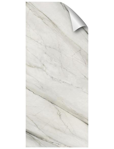 mySPOTTI Duschrückwand-Panel, fresh, Marmoroptik, 210x90 cm
