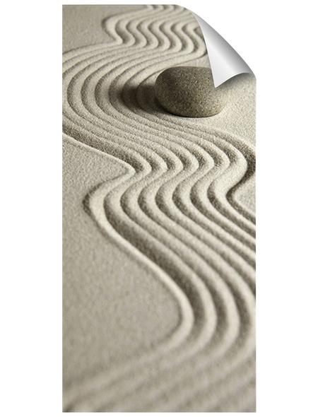 mySPOTTI Duschrückwand-Panel, fresh, Sandoptik, 210x100 cm