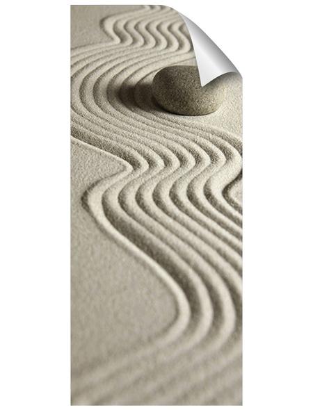 mySPOTTI Duschrückwand-Panel, fresh, Sandoptik, 210x90 cm