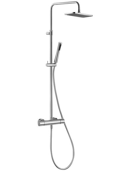 KLUDI Duschsystem »A-QA«, Breite: 400 mm, Kunststoff/Metall