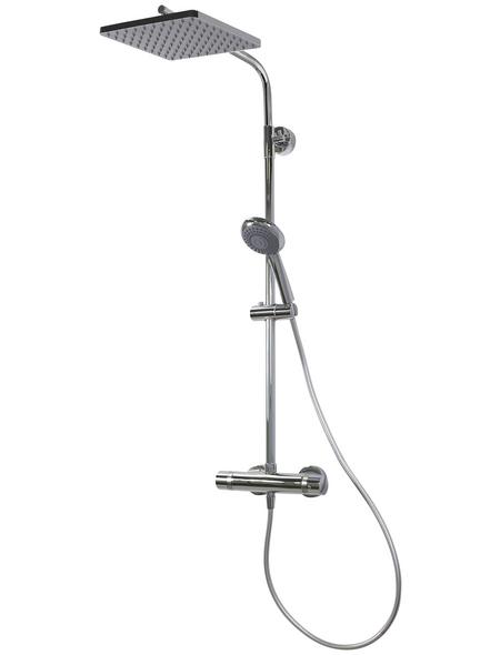BREUER Duschsystem »Aquamaxx 310«, chromfarben